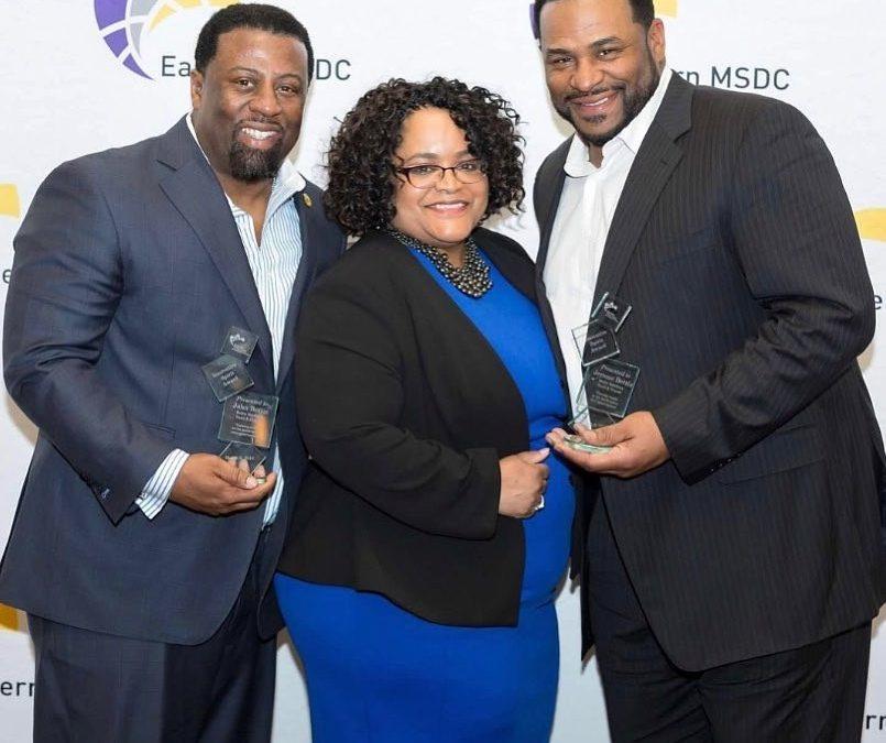 Bettis Brothers Sand & Gravel accepts Innovative Spirit Award